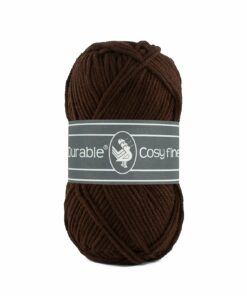 Durable Cosy Fine, donker bruin, 2230