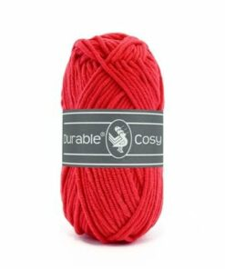 Durable Cosy, rood, 316