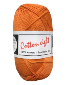 cotton eight oranje katoengaren